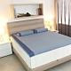 DISCOVERY柔眠床墊 標準雙人5尺 5.5cm厚_文青藍特仕版-不含枕 product thumbnail 1