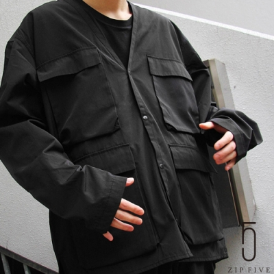 ZIP日本男裝 防潑水無領工裝夾克(7色)