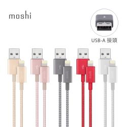 Moshi Integra Lightning to USB-A 編織傳輸充電線