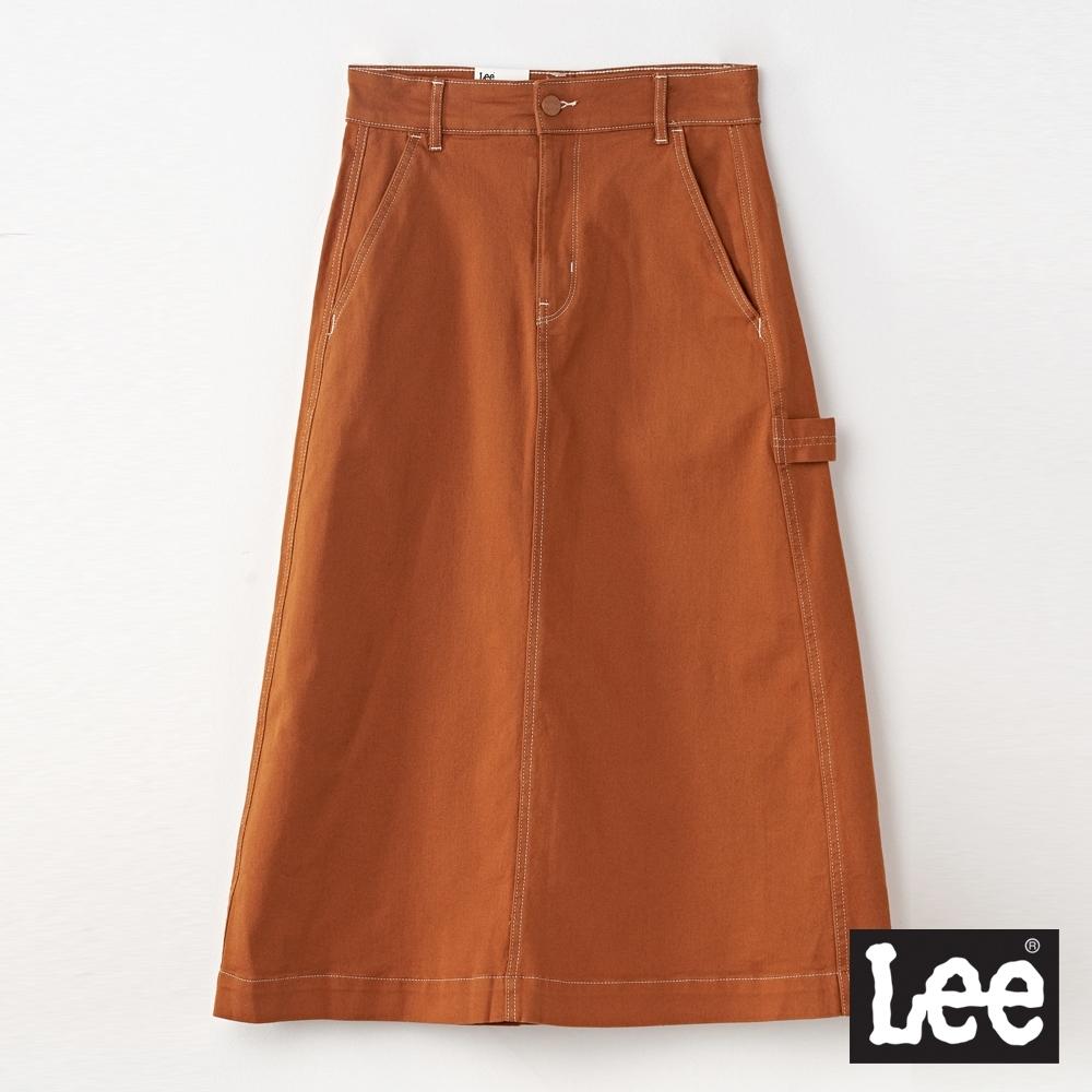 Lee 休閒長裙 RG 女款 棕色