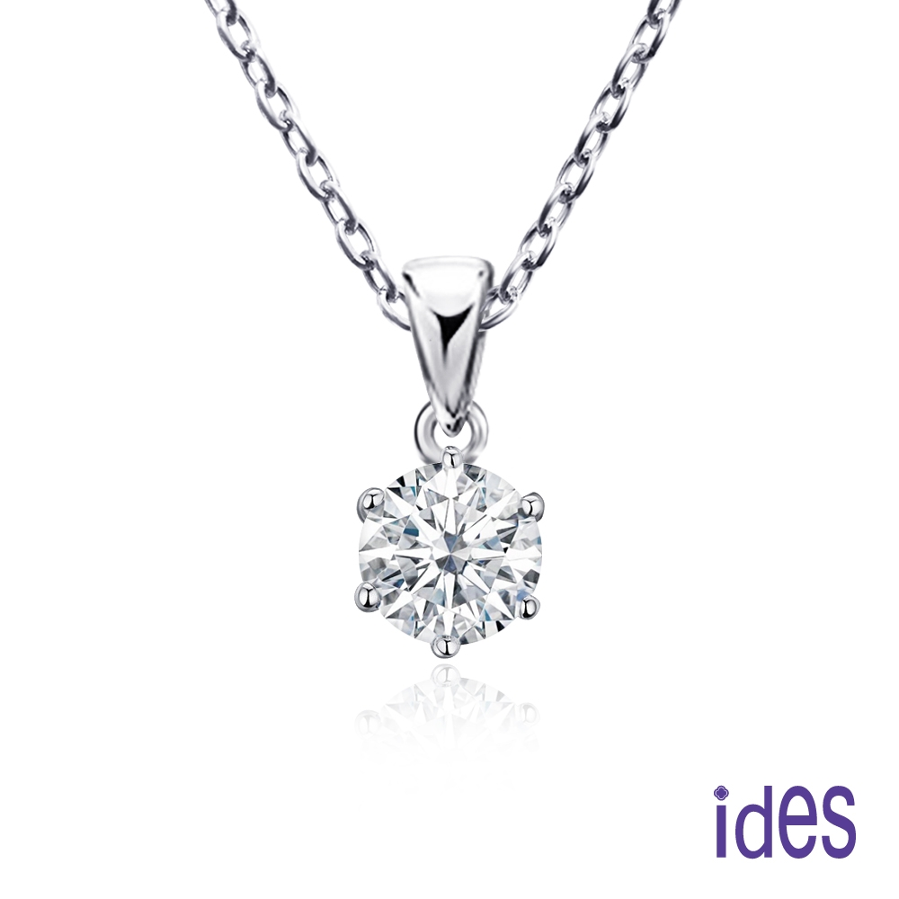 ides愛蒂思 專櫃價7折30分F/VS1八心八箭3VG車工鑽石項鍊