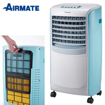 AIRMATE艾美特搖控事6L水冷扇CF617R-冰川藍
