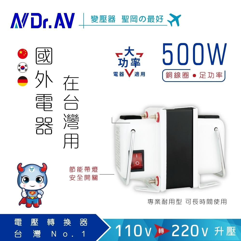 【N Dr.AV聖岡科技】GTC-500 專業型升降電壓調整器