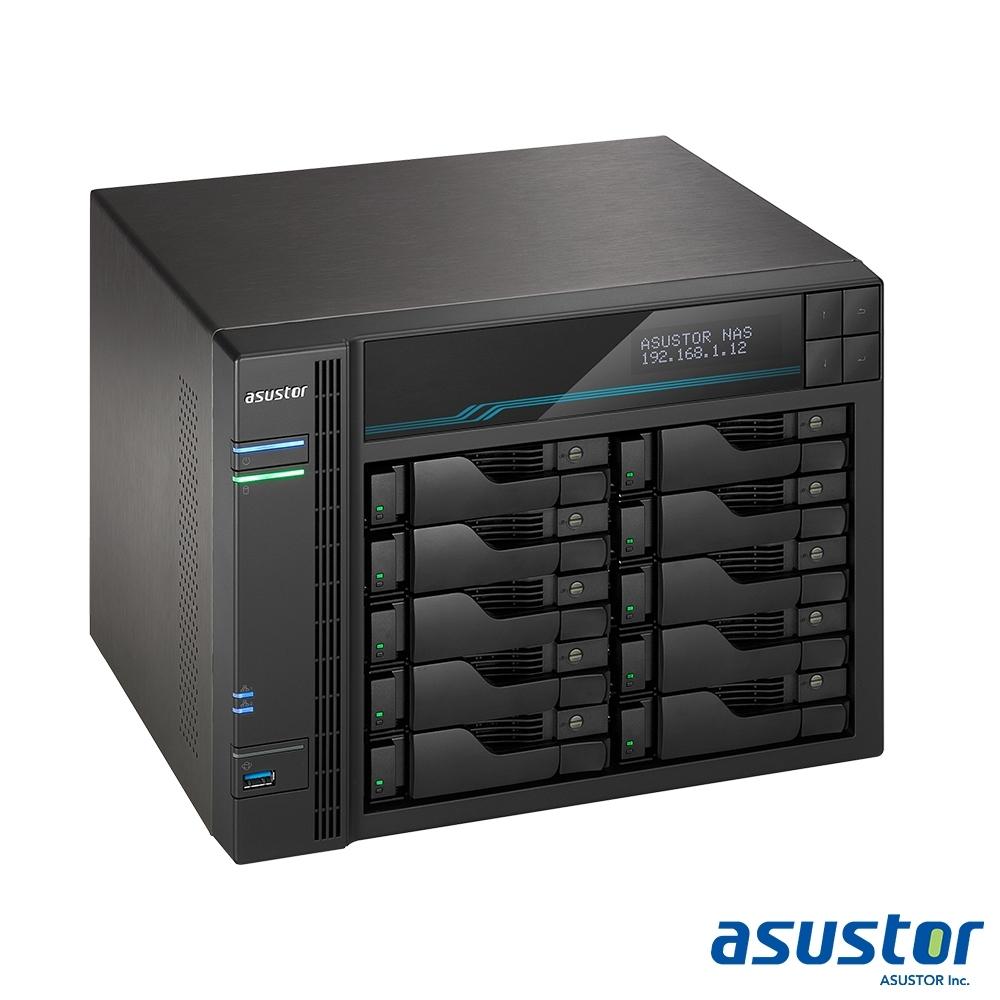 ASUSTOR華芸 AS6510T 10Bay NAS網路儲存伺服器