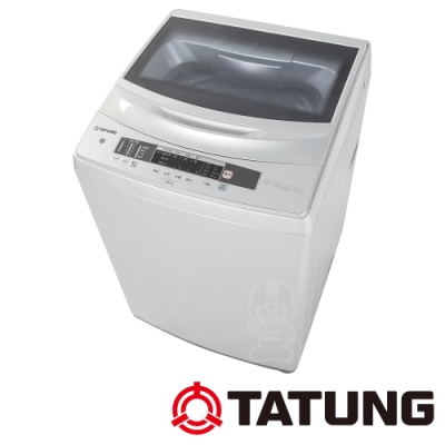 TATUNG大同 10KG 變頻洗衣機-淺銀TAW-A100DA