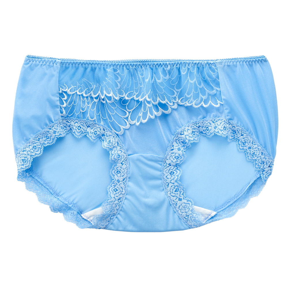莎薇-魔力推推M-LL 低腰平口內褲(藍)舒適透氣包臀