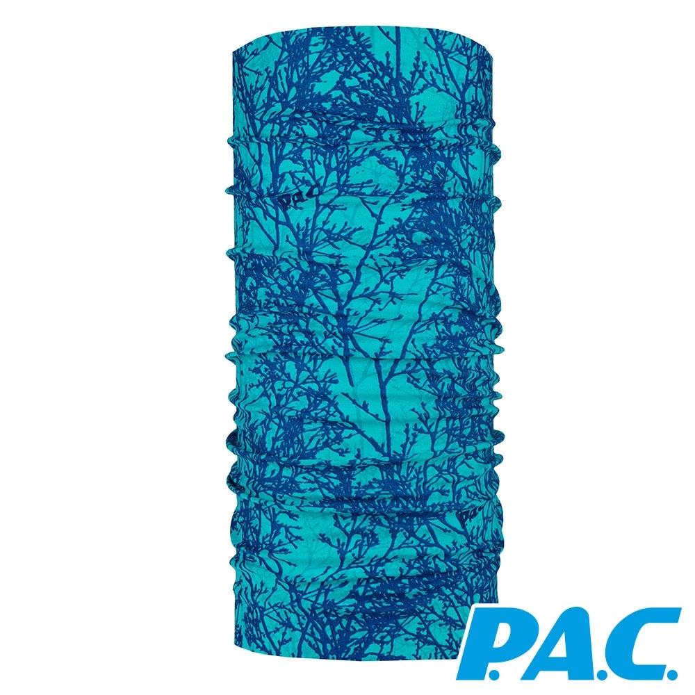 【PAC德國】雙面無縫舒適頭巾PAC8810369樹枝/吸濕排汗/透氣快乾/抗菌抗臭/登山/健行/單車/路跑