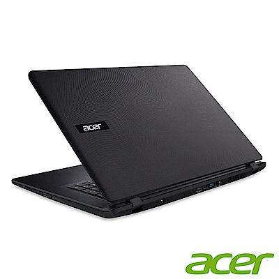 Acer ES1-732-P15K 17吋筆電(N4200/1T/6G/黑/福