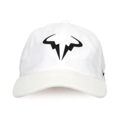 NIKE 運動帽 白黑