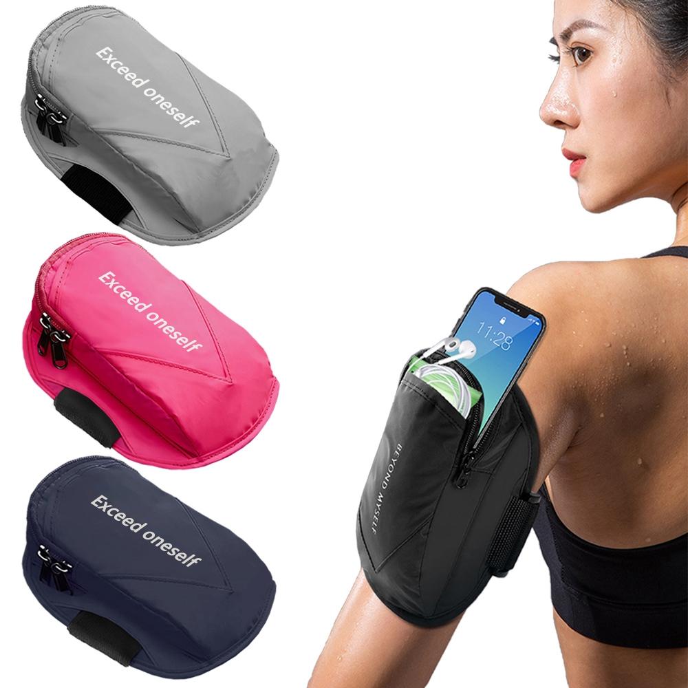 活力揚邑 反光夜跑手機腕套臂套防水單車臂袋透氣排汗運動臂包