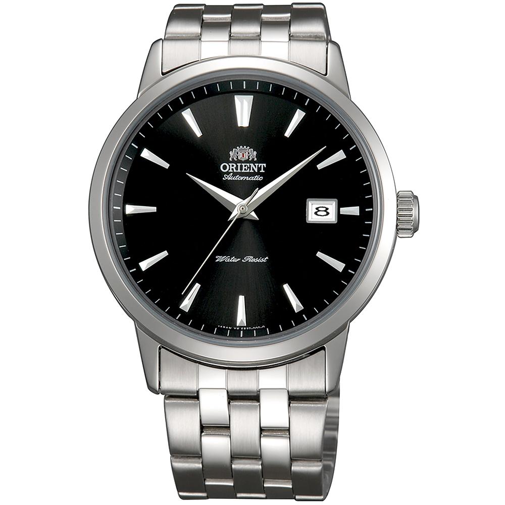 ORIENT  魅力型男自動上鍊機械腕錶(FER27009B0)-黑面x41mm