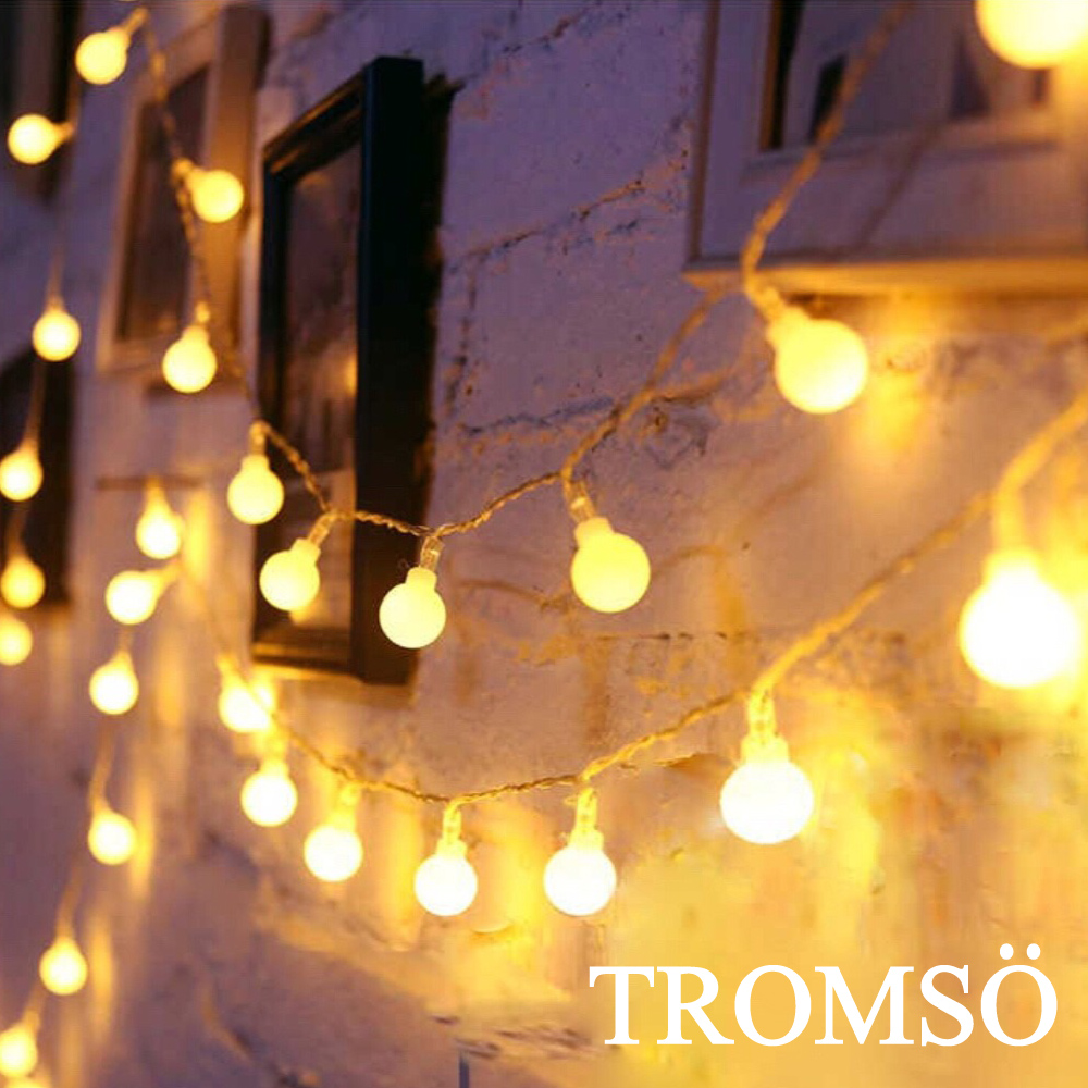 TROMSO LED樂活佈置小泡泡燈串組
