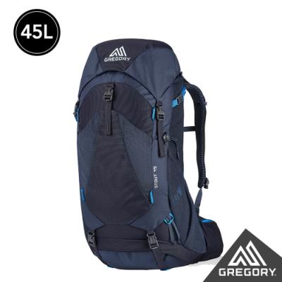 Gregory 45L STOUT登山背包 幻影藍