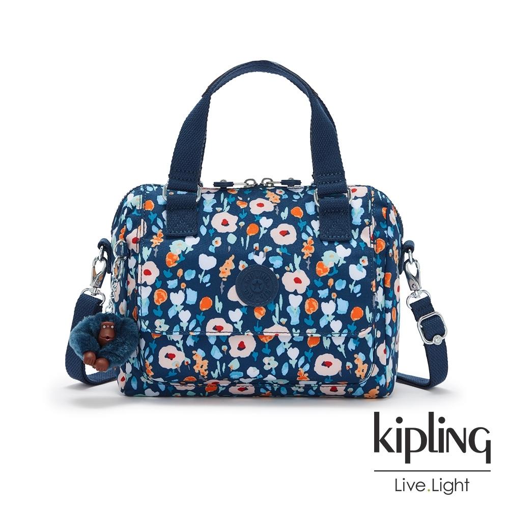 Kipling 牧場彩繪風格翻蓋手提側背包-ZEVA