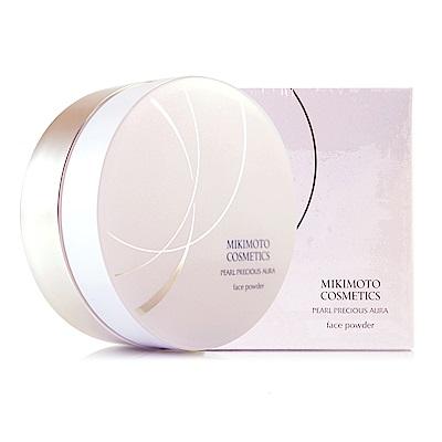 *MIKIMOTO御木本 珍珠光蜜粉20g超值組(含粉盒+粉撲)