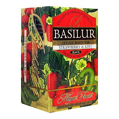 Basilur 錫蘭花果茶包(2gx20入)-草莓&奇異果