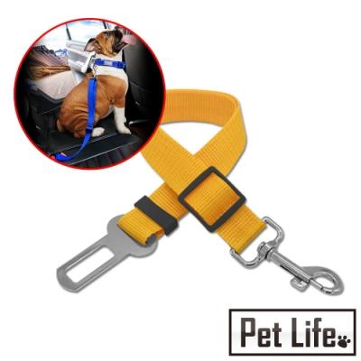 Petlife 寵物外出汽車座椅安全帶 顏色隨機