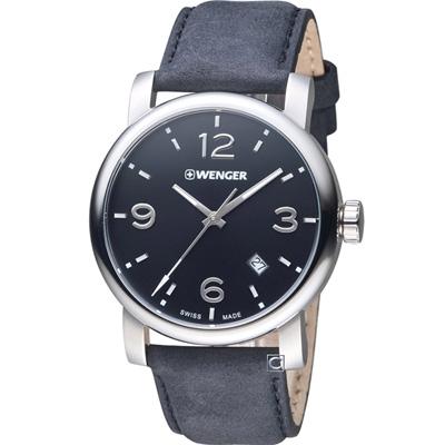 WENGER Urban 黑豹特遣 時尚腕錶(01.1041.127)41mm