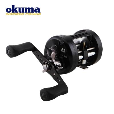 Okuma METALOID 麥羅伊 擬餌拋投鼓式捲線器 M-400
