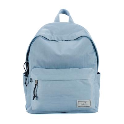 J II 後背包 經典水洗防潑水後背包-淺藍色-6296-16