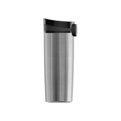 瑞士百年SIGG米諾 雙層真空不鏽鋼保溫杯-霧銀470ml  /隨身杯/咖啡杯/環保杯/外帶杯