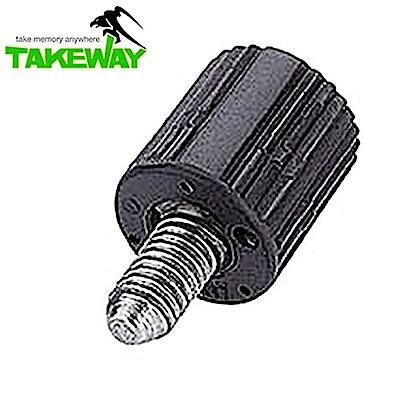 台灣製造Takeway鉗式腳架T1快拆旋紐T-RK01