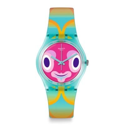 Swatch Gent 原創系列手錶 MR BLUBBY -34mm