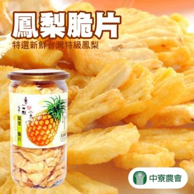 【中寮農會】鳳梨脆片 (110g / 罐 x2罐)