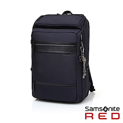 Samsonite RED GLENDALEE 上開式多功能筆電後背包15.6(海軍藍)