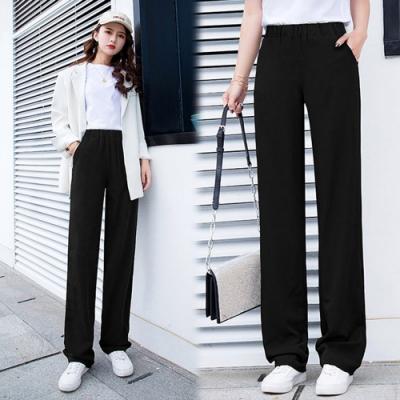 【韓國K.W.】(預購)明星款性感魅力寬褲-1色