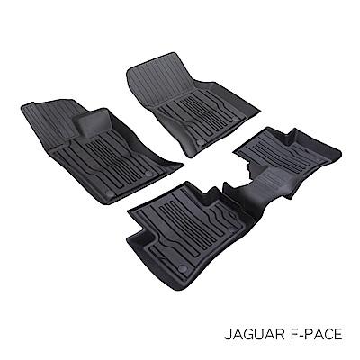 MIBO 米寶全包式立體腳踏墊 JAGUER F-PACE 2015~2018年(黑色)