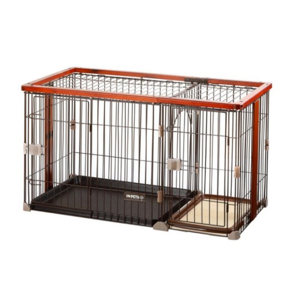 Bonbi 犬用木製狗籠套房 L號