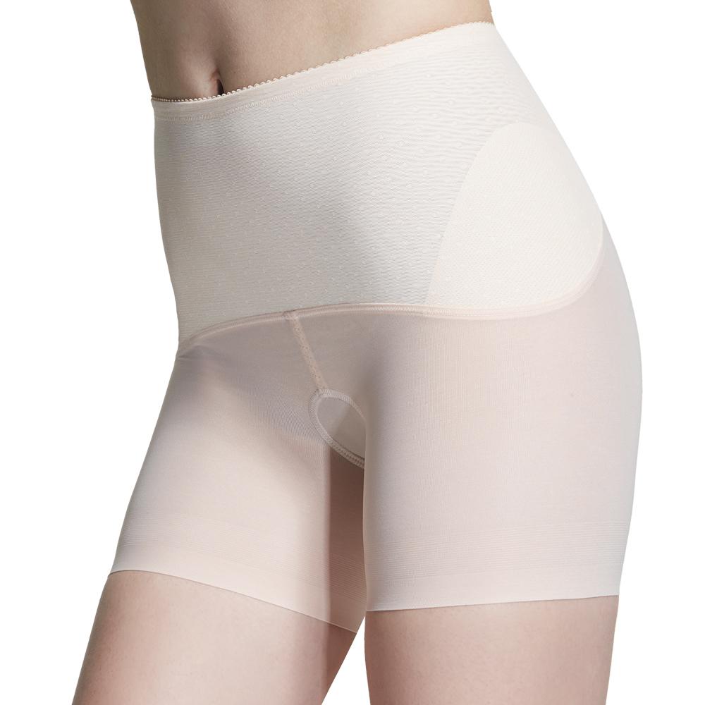 【ohoh-mini 孕婦裝】產後輕機能無痕塑束褲(粉色)