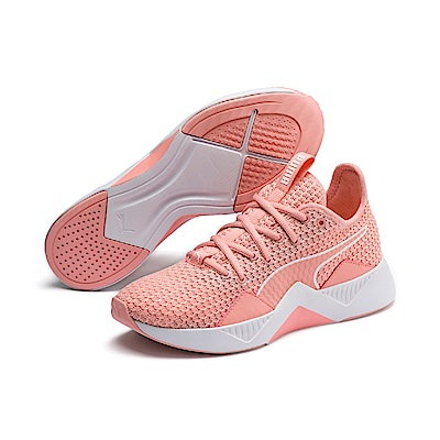 PUMA-Incite FS Wns 女性有氧運動鞋-桃芽粉