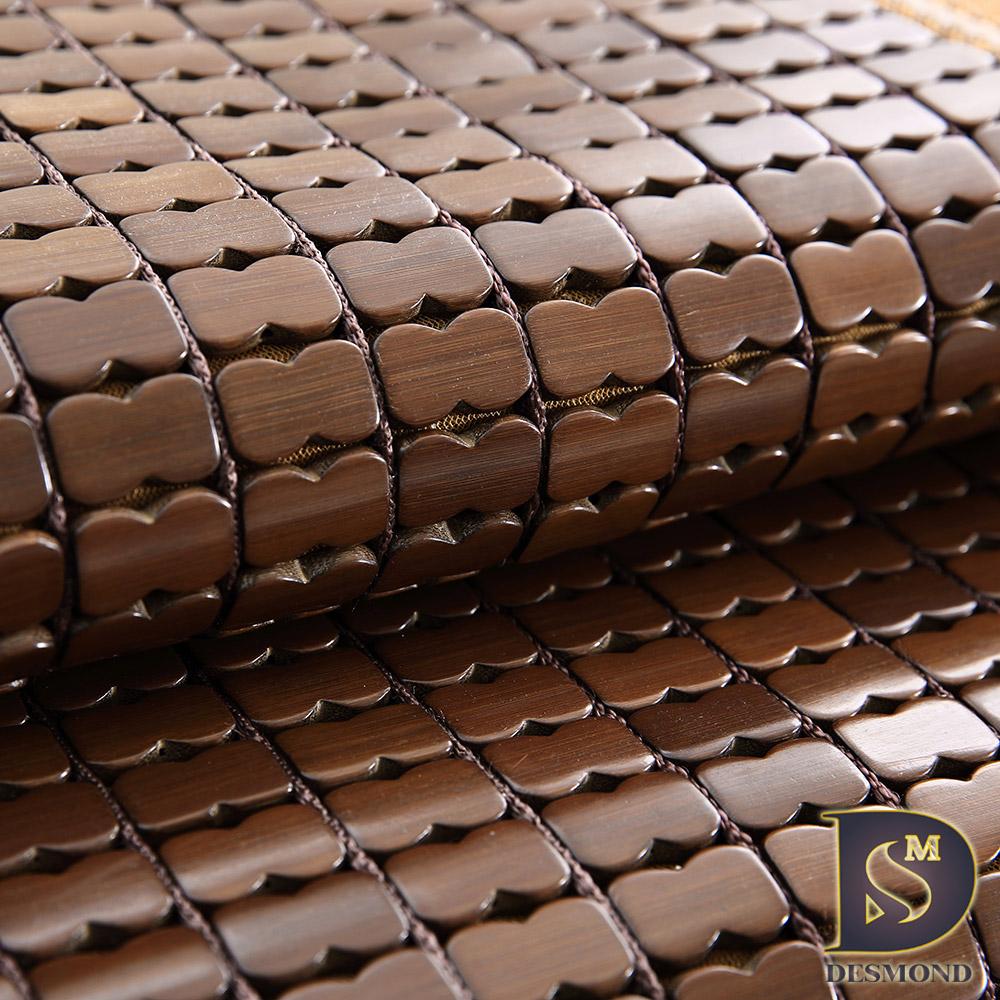 DESMOND 3D碳化麻將蓆 雙人特大6x7尺 立體透氣網/棉繩專利/奢華包邊
