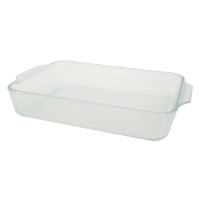 日本ADERIA 陶瓷塗層耐熱玻璃烤盤-長方形1800ml
