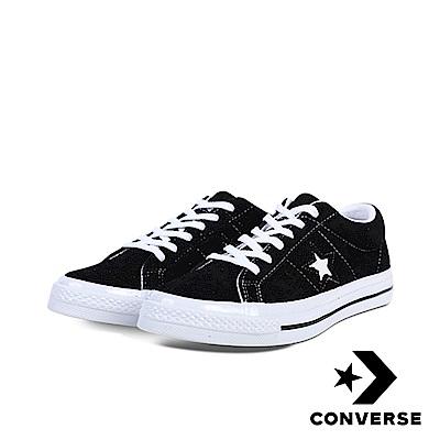 CONVERSE-ONE STAR男女休閒鞋-黑