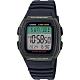 CASIO 城市個性休閒電子錶-綠框(W-96H-3A)/22*24mm product thumbnail 1