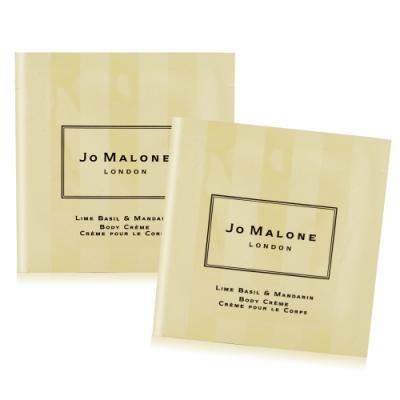 *Jo Malone 青檸羅勒葉與柑橘潤膚霜5mlX2