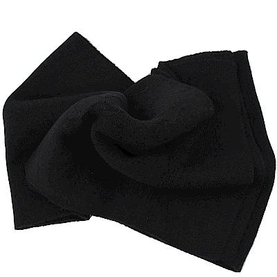 COACH經典C LOGO針織羊毛圍巾(灰黑)COACH