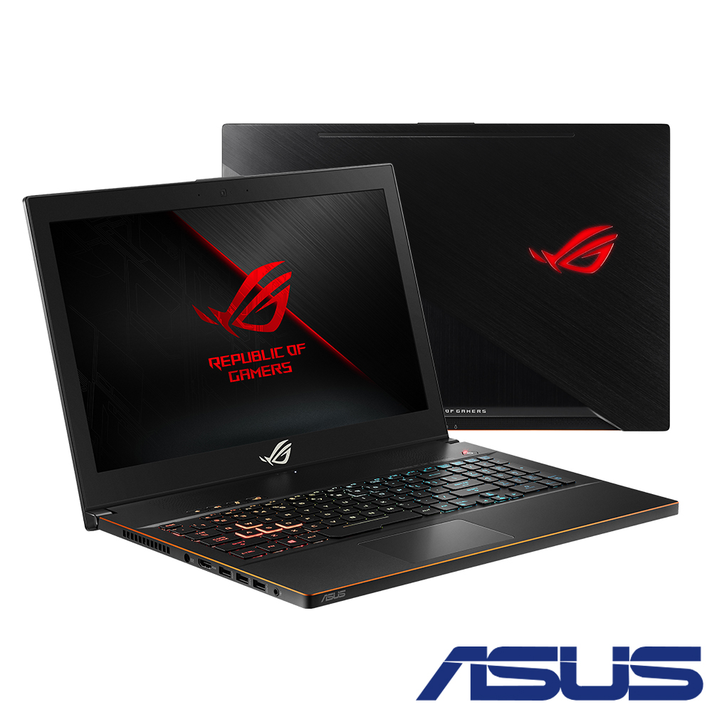 ASUS ROG GU501GM 15吋電競筆電 (i7-8750H/GTX1060P/雙碟)