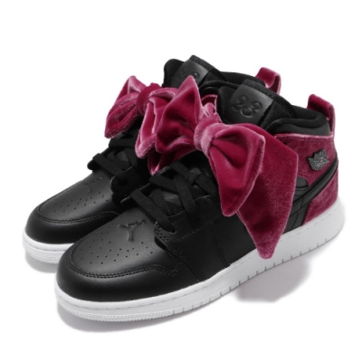 Nike Air Jordan 1 Mid Bow 女鞋