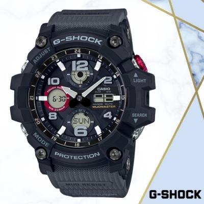 CASIO卡西歐 防泥抗塵極限大陸手錶(GSG-100-1A8)/54.9mm