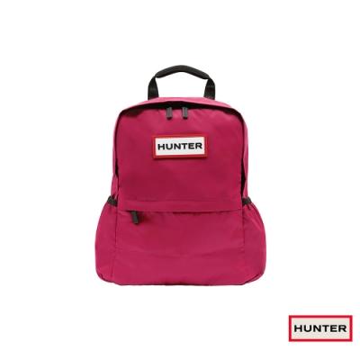 HUNTER - 尼龍後背包 - 亮粉紅
