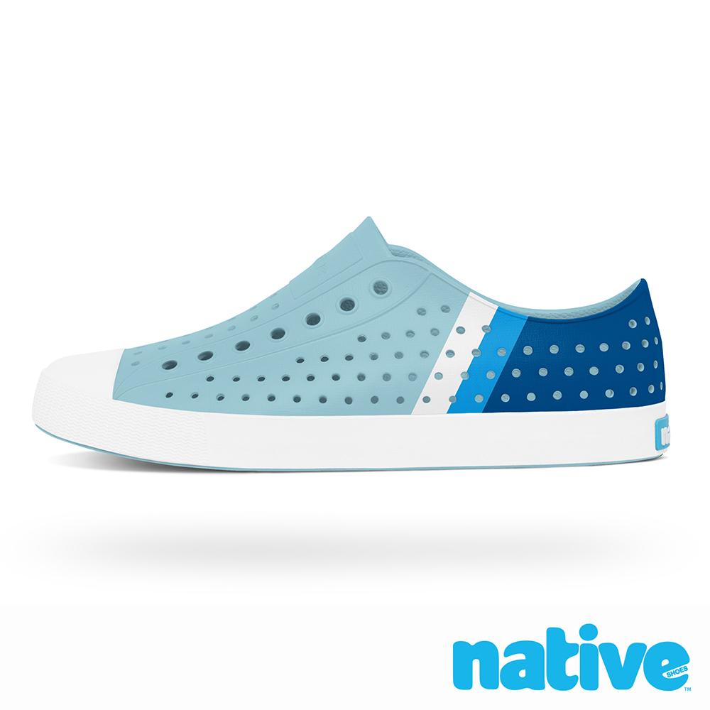 native JEFFERSON 男/女鞋-美式校園系列x天空藍