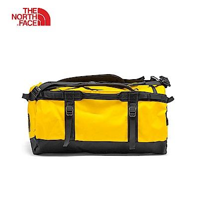 The North Face北面黃色可收納式專業兩用駝包 3ETOZU3
