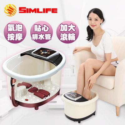 SimLife-中桶溫熱按摩泡腳機(顏色隨機)