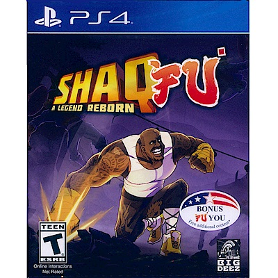 功夫俠客:傳奇重生 Shaq Fu: A Legend - PS4 英文美版