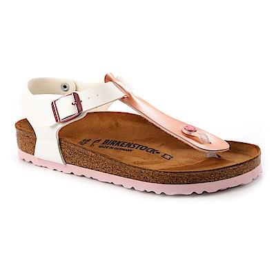 勃肯BIRKENSTOCK 1008146KAIRO開羅夾腳涼鞋(金屬玫瑰白)