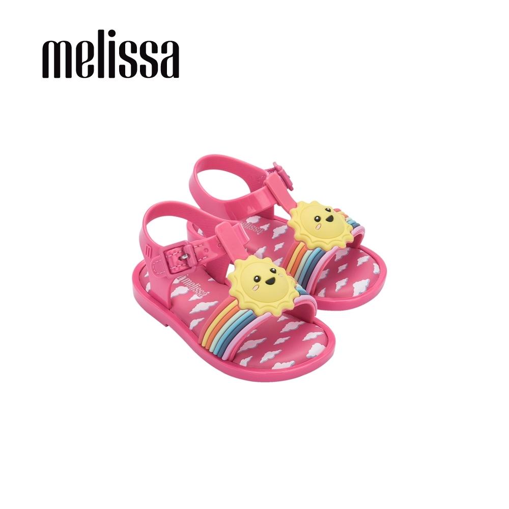 Melissa ULTRAGIRL彩虹好天氣涼鞋 寶寶款-粉紅